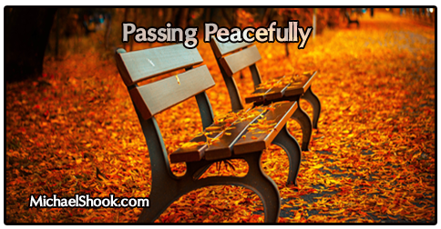 passing peacefully - the sacred circle