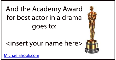 Give yourself an oscar